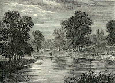 Rosamond's Pond, St James's Park, in 1758  from Old and New London by E Walford (1878)