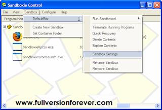 Free download Sandboxie v4.14 Final FULL CRACK
