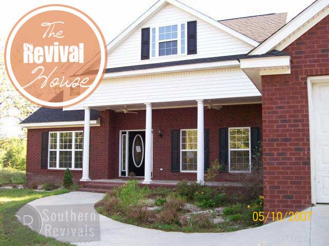 Southern Revivals | The Revival House Blog Series - How we're turning a foreclosure into our dream home.