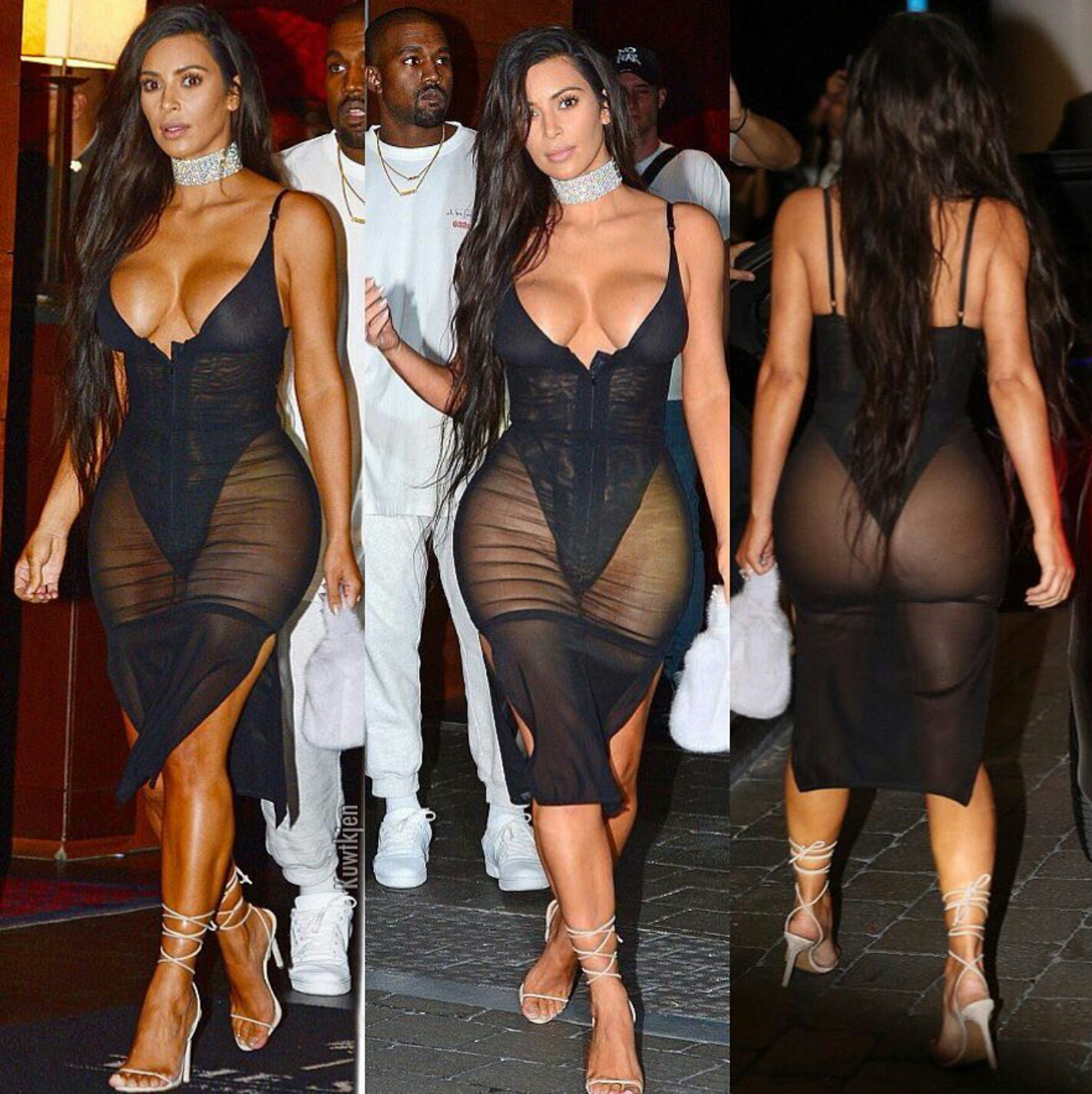 Have Kim kardashian nude under mesh remarkable, this