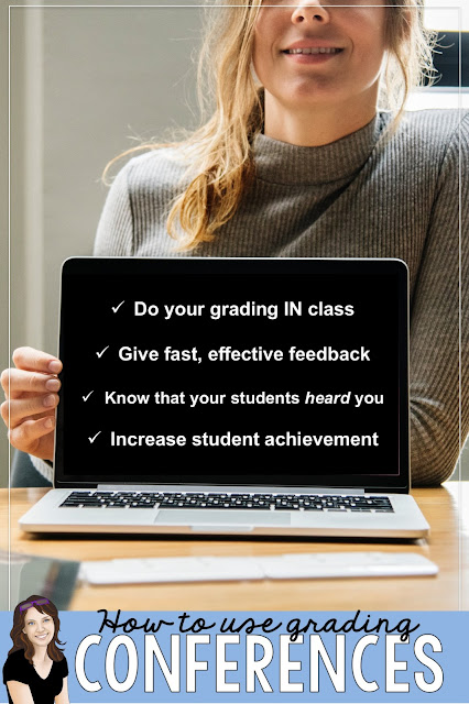Use grading conferences to maximize learning AND reduce your grading load.