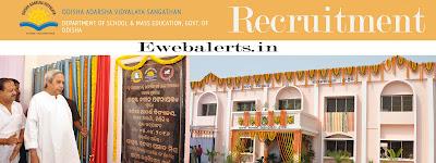 Odisha Adarsha Vidyalaya Sangathan Recruitment
