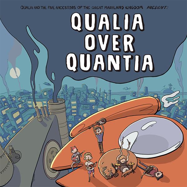 """Qualia stream new album """"Qualia Over Quantia"""""""