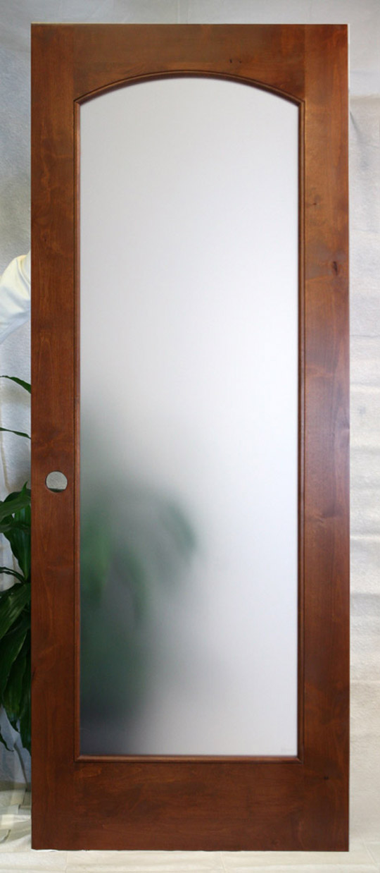 Interior french doors with frosted glass