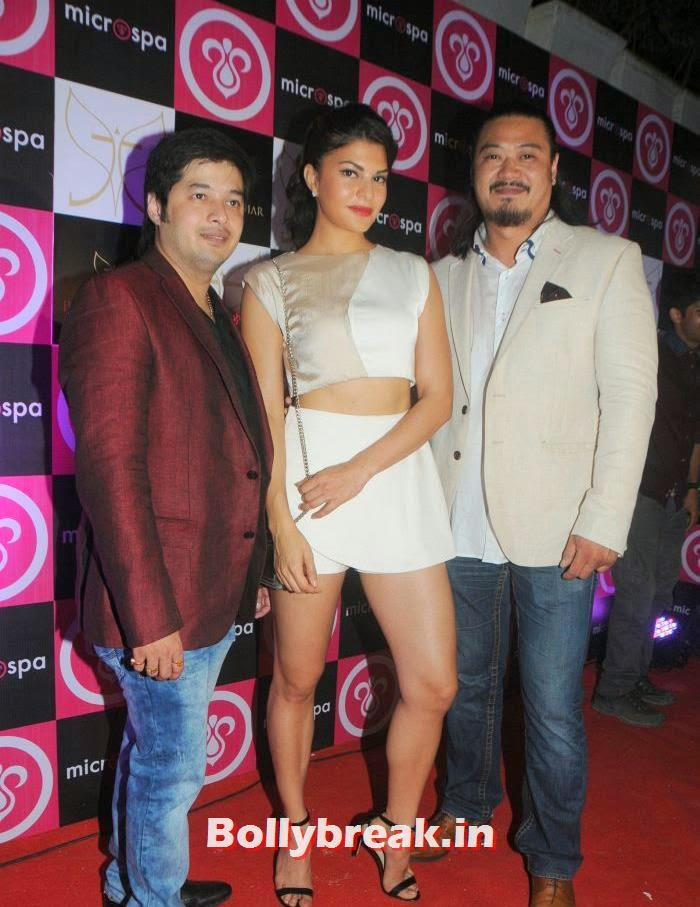 Shiao Bin Chen, Jacqueline Fernandez, Winston Lee, Keratin Secrets Launches Revolutionary Hair Care Product Microspa