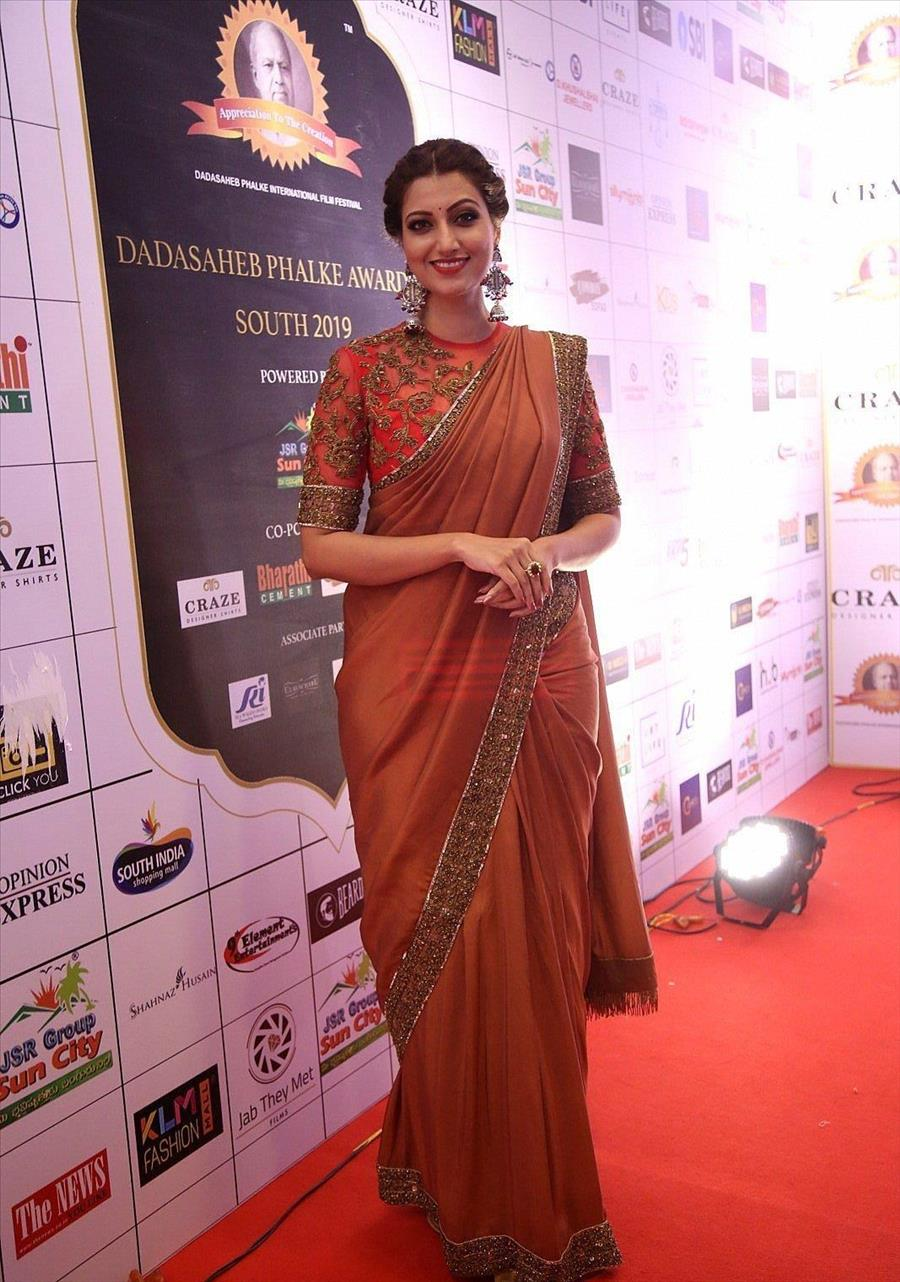 Indian Model Hamsa Nandini at Dada Saheb Phalke Awards South