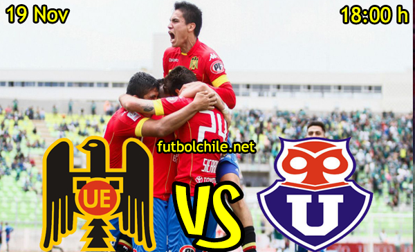 Ver stream hd youtube facebook movil android ios iphone table ipad windows mac linux resultado en vivo, online:  Unión Española vs Universidad de Chile