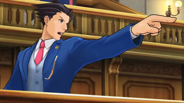 Ace Attorney Phoenix Wright anime