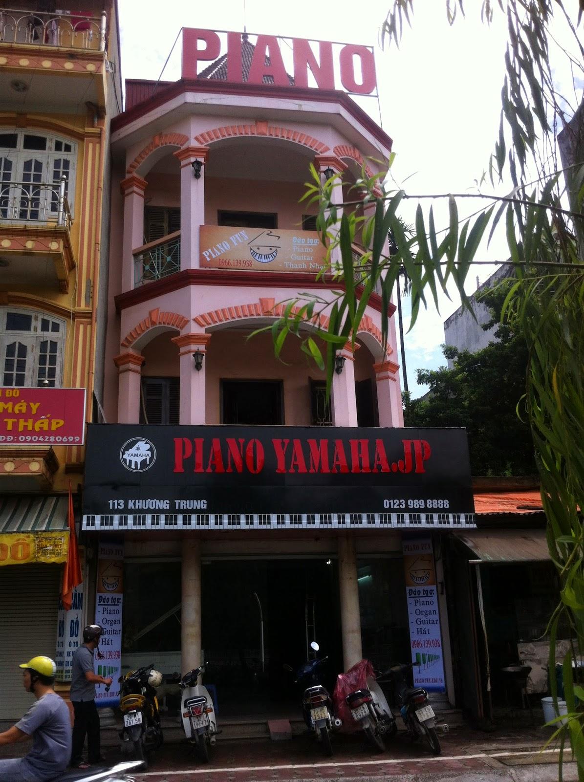 piano fun  113 khương trung nhìn từ bên đường