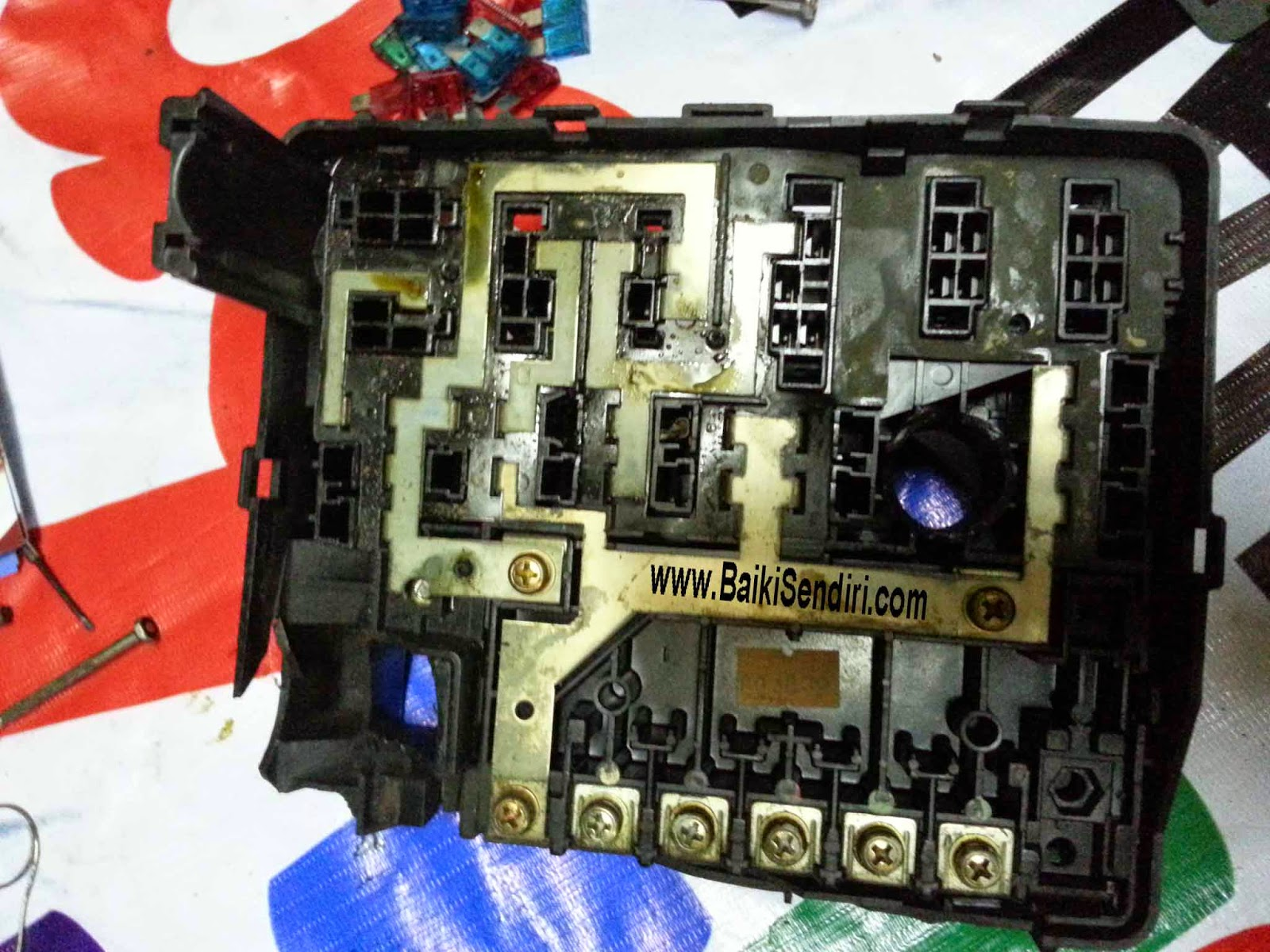 Diy Fix On Your Own Honda B20a Fuse Box Replacement How Looks The Since There Is 2 3 Same Color Code Or Similar