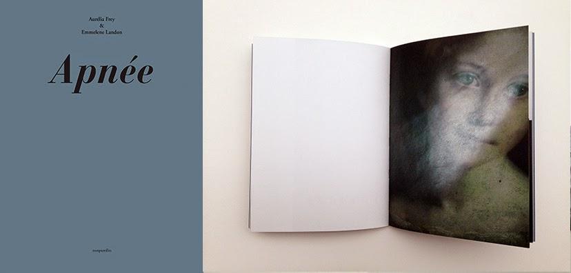 Apnée  photographies de de Aurélia Frey et texte de  Emmelene Landon