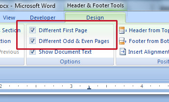 How To Format A Manuscript Header Using MS Word: Name On One Side, Title On The Other