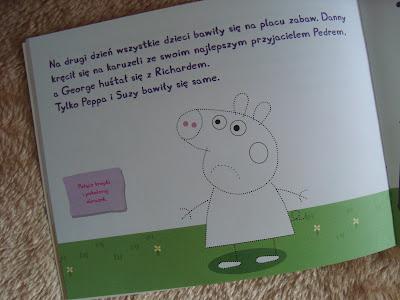 świnka peppa, mówię przepraszam, książka