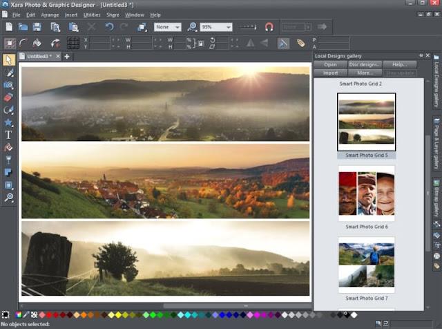 تحميل برنامج معالجة الصور عربي للكمبيوتر - Xara Photo مجانا
