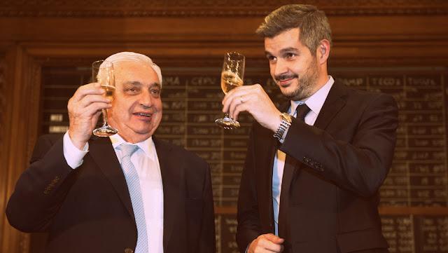 Adelmo Gabbi encabezó la ceremonia de festejos por el 163 aniversario de la #BCBA
