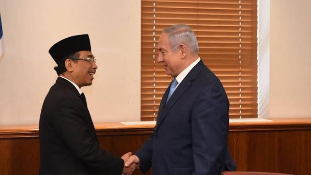 Yahya Staquf Bertemu PM Israel Netanyahu