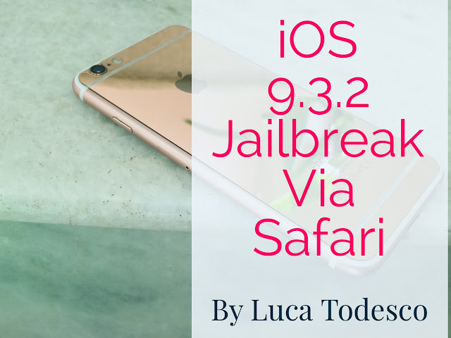 Famous hacker, Luca Todesco has shown jailbreaking his device running iOS 9.3.2 via Safari Browser. The steps are so much easy and fast. The hacker has been teasing the jailbreak community since the release of iOS 9.3 beta.