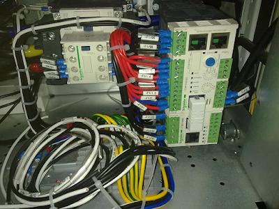 penggunaan kabel NYAF pada panel