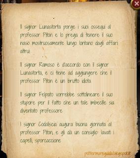 """L3C14M3: la Mappa del Malandrino """"omaggia"""" Severus Piton"""
