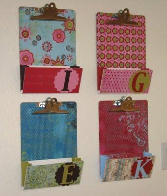 O lado de c pranchetas para decorar e organizar for Como fazer um mural de recados artesanal