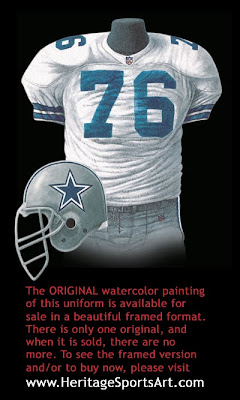 Dallas Cowboys 1993 uniform