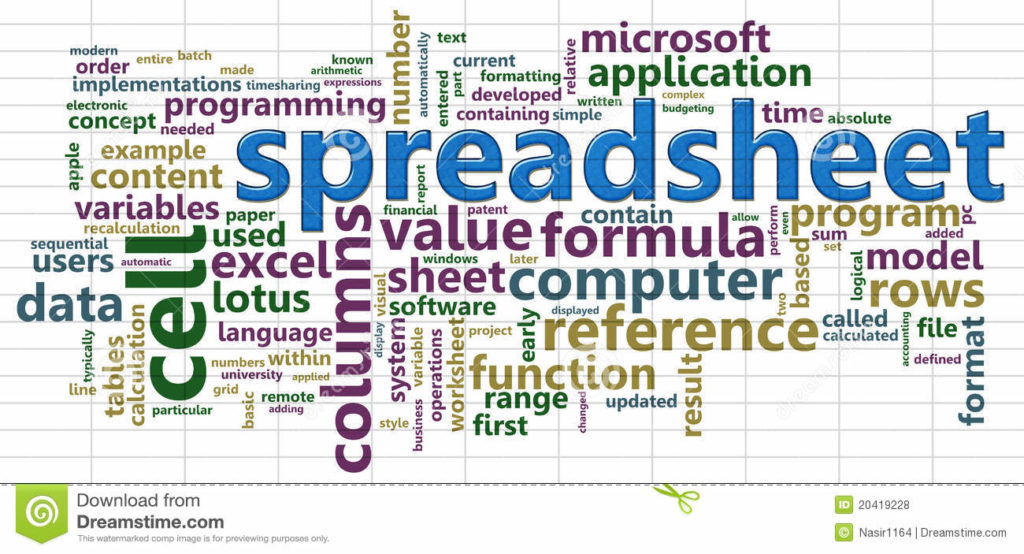 The Creative Apprentice : Spreadsheet Software