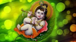 Beautifull Baby Krishna  Wallpaper