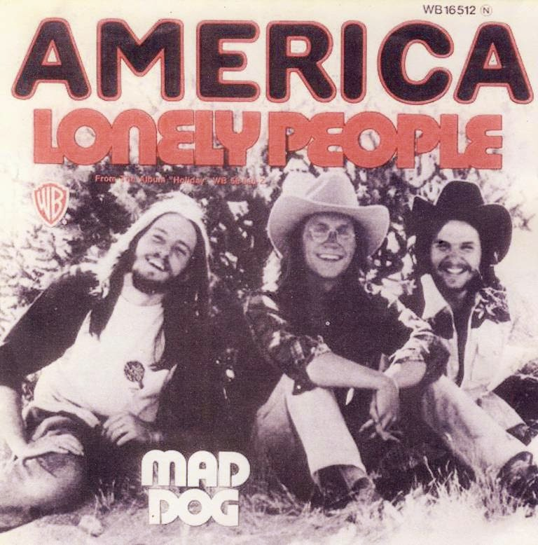 America - Lonely People (1974)