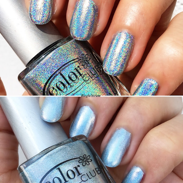 color club blue heaven holografik oje 3