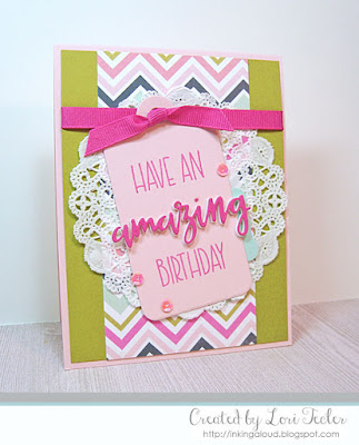 Have an Amazing Birthday card-designed by Lori Tecler/Inking Aloud-stamps from Verve Stamps