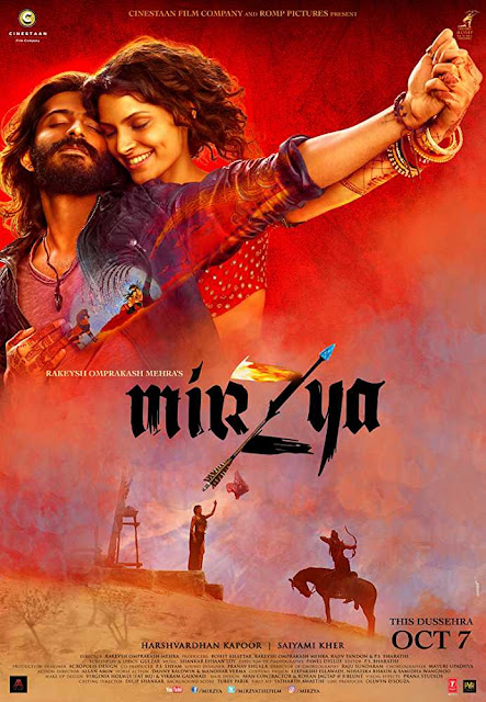 Poster Mirzya (2016) Full HD Movie Download 720p Free