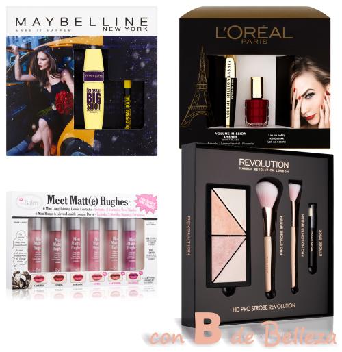Packs maquillaje 2017