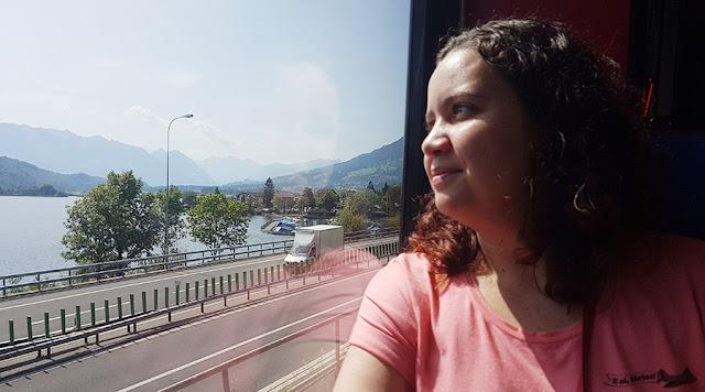 Trem de Alpnachstad a Lucerna, Suíça
