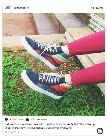 macam jenis contoh promosi di instagram ig cara pemasaran produk online shop ampuh efektif terbukti berhasil paid promote endorse pp selebgram artis selebritu tips menulis caption gambar