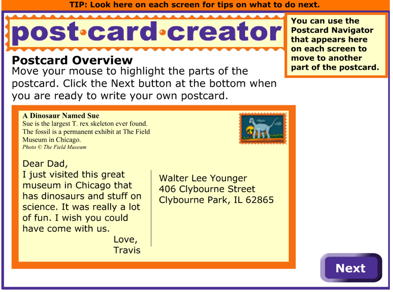 To Start Using Postcard Creator Head Over This Page And Click On Get Started Read Through The Tips Provided There Then Next