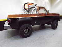 Chevy 4x4 1/25 Revell Snap