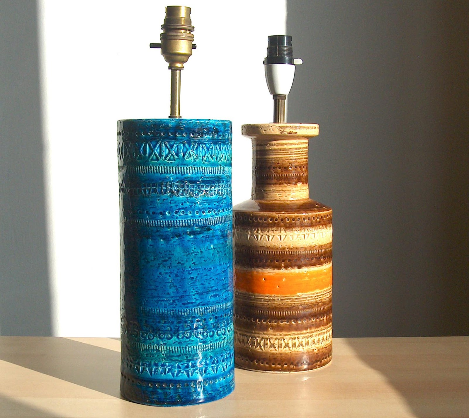 Potshots Italian Lamp Bases This Bitossi Pair Will Soon