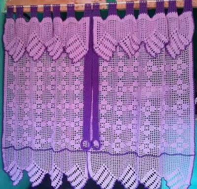 Creativas propuestas para hacer cortinas en crochet