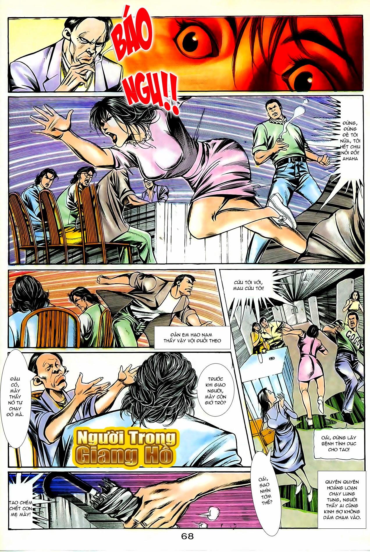 Người Trong Giang Hồ chapter 86: săn báo trang 11
