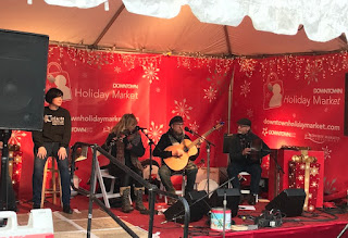 Live music at the Holiday Market
