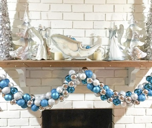 christmas ornament garland