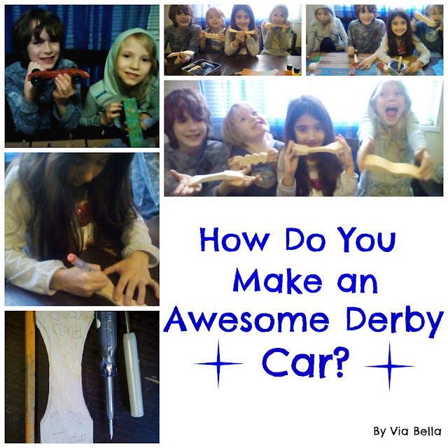 how do you make an awesome derby car, pinewood derby car, pinewood derby, pwd, boy scouts, cub scouts, girl scouts, scouting