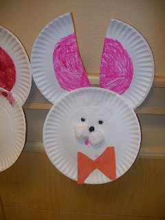 Easter Art Ideas - using just construction paper or paper plates. It doesn't get much easier!