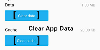 Clear App Data Android