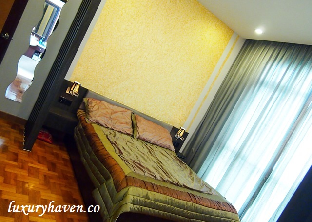 nippon paint luxury haven bedroom make-over after