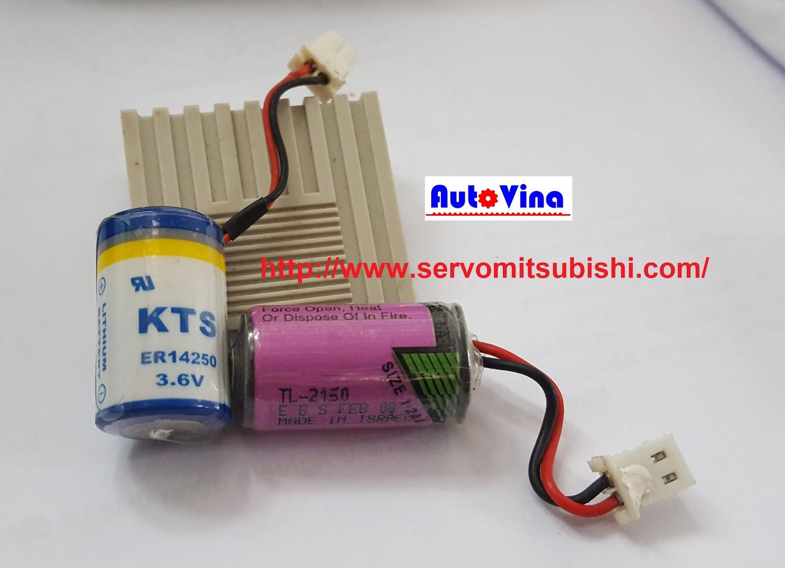 Pin nuôi nguồn bộ nhớ, thời gian thực cho PLC Delta KTS ER14250, TADIRAN TL-2150