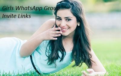 Girls WhatsApp Group Invite Links