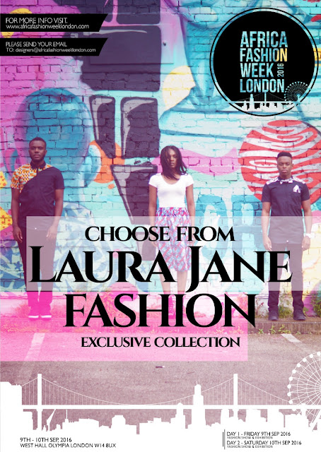 Laura Jane Fashions at AFWL 2016