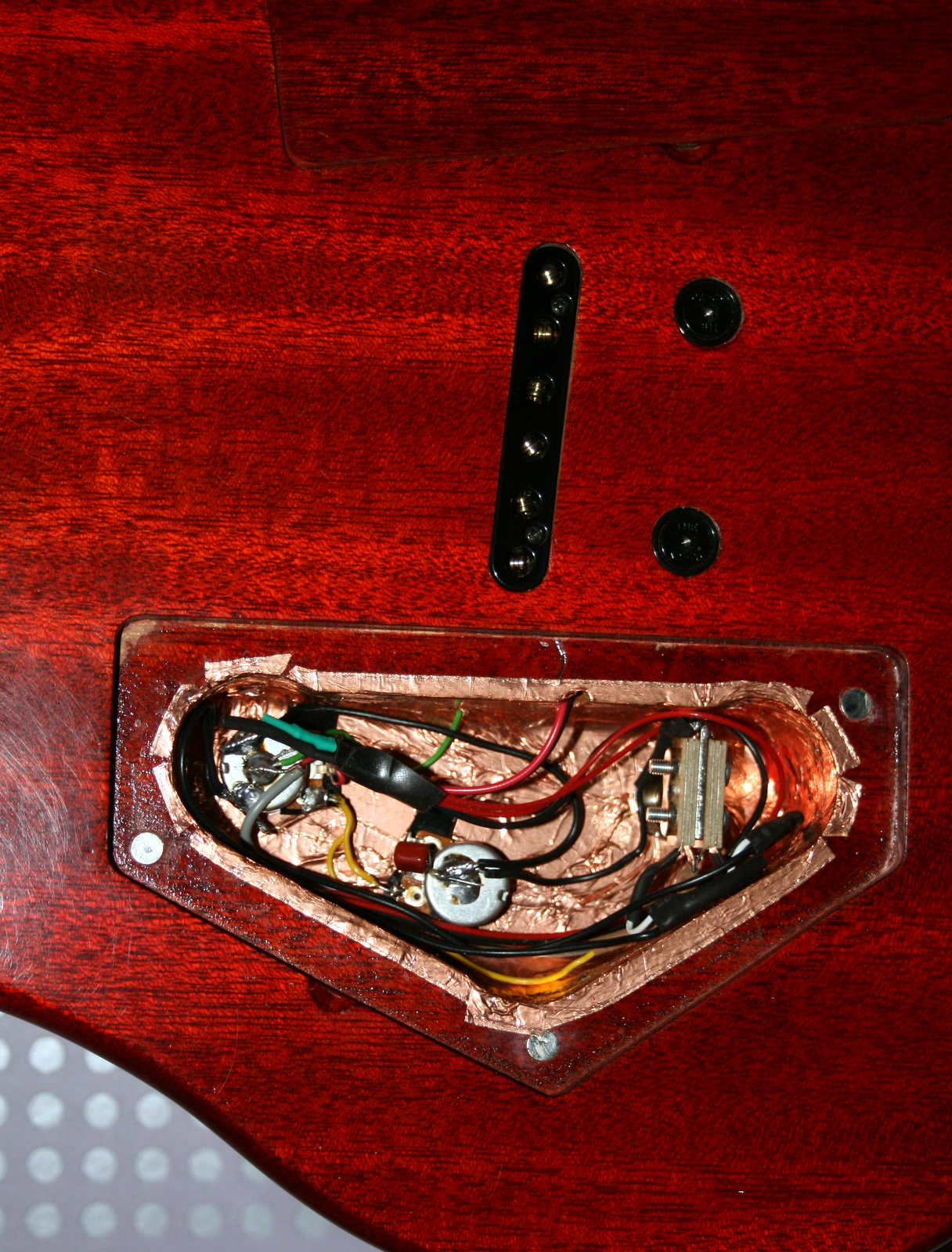 tmc woodworks baritone guitar build part 9 completion. Black Bedroom Furniture Sets. Home Design Ideas