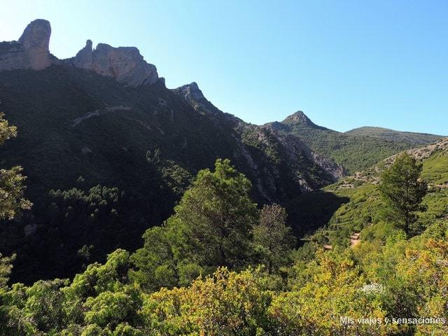 Foz de Pituero, Mallos de Aguero